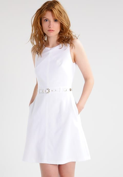 Pedir  Versace Jeans Vestido ligero - white por 269,95 € (29/04/17) en Zalando.es, con gastos de envío gratuitos.