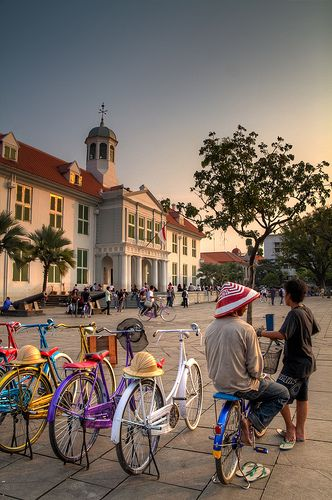 Kota Tua (Old Town) Jakarta - Visit http://asiaexpatguides.com and make the most of your experience in Indonesia!