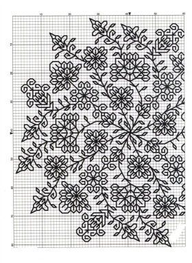 this would make a stunning blackwork piece                                                                                                                                                     Más