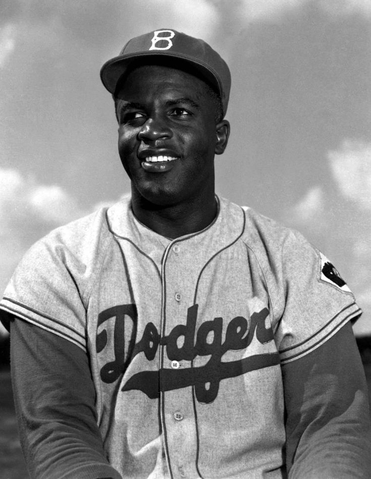 a biography of jackie robinson a baseball player Jackie robinson was a baseball player and a hall of fame player but the gold medal isn't given for athletic achievement—robinson was a four-sports star at ucla, and some believe baseball was not his best sport—but in recognition of one's achievements as a human being.