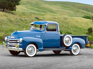 I love these old trucks, which surprises me because I also love air conditioning.....