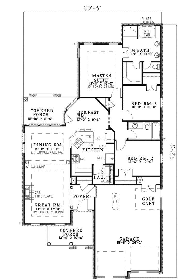 8 best floor plans images on pinterest home plans master suite