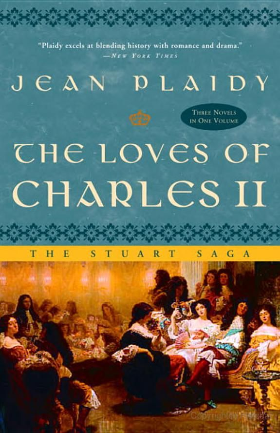 The Loves of Charles II: The Stuart Saga - Jean Plaidy. At over 700 pages, this book took a month to get through. It was pretty good.