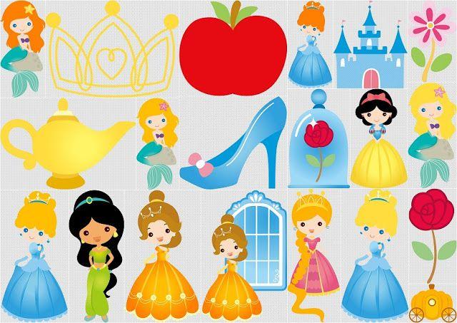 Disney Princes Babies Clip Art.