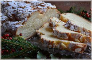 Máslová vánočka