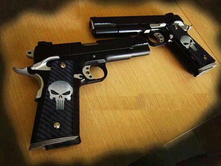 Punisher pistols