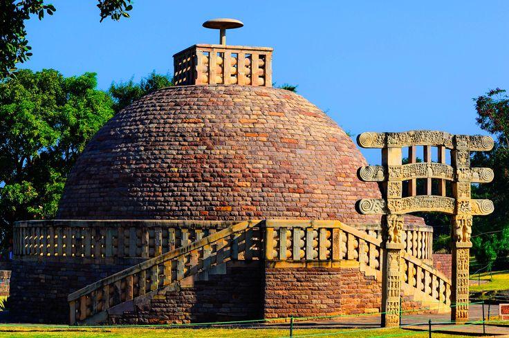 The Great Sanchi Stupa at Sanchi, near Bhopal, M.P. #RevisitHistorywithFujifilm