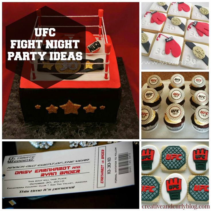 UFC Fight Night Party Ideas