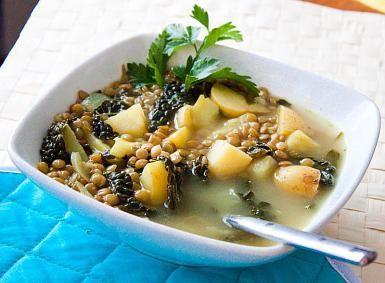 Lemon, Kale and Lentil Soup: Lemon, Kale and Lentil Soup