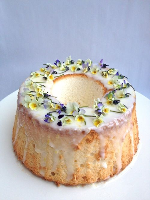 Edible Flowers Dessert Recipes