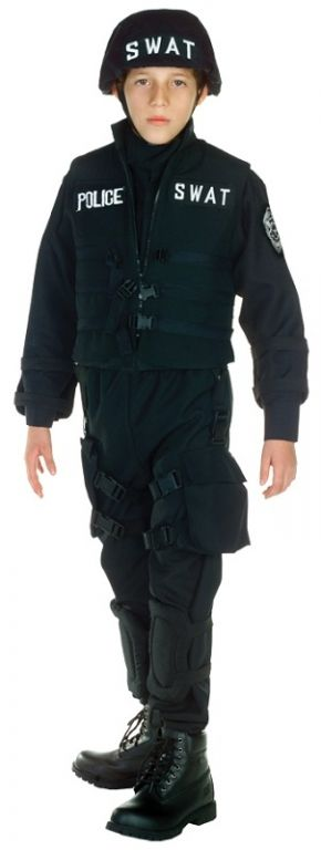 SWAT Costume    Pinned for Kidfolio, the parenting mobile app that makes sharing a snap.