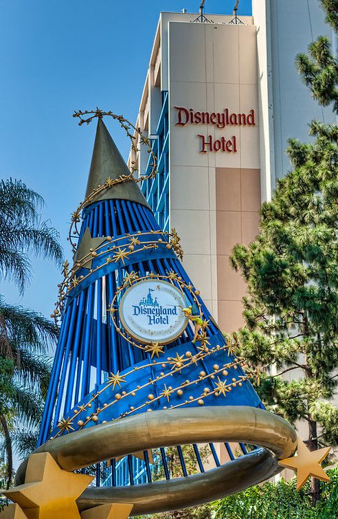 Tim, I and the kids just love this Disneyland Hotel (photo by Matthew Hansen)