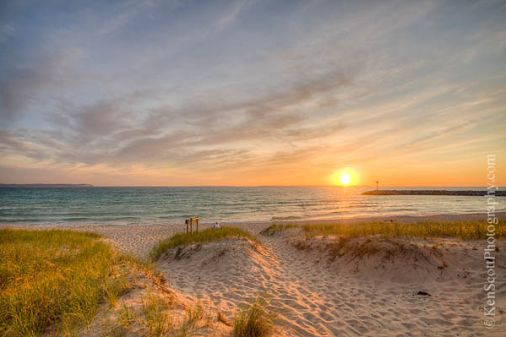 """Leland, MI Nominated for """"Best Place to Watch a Sunset"""""""