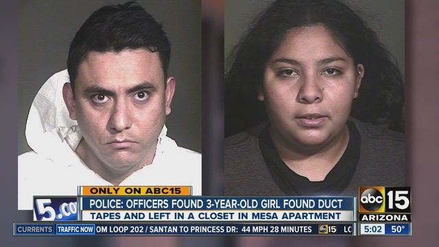 These two need the death penalty! This is one of the worst cases of child abuse.  Mayra Solis, the child's mother, and Francisco Javier Rios-Covarrubias from Mesa, Arizona.