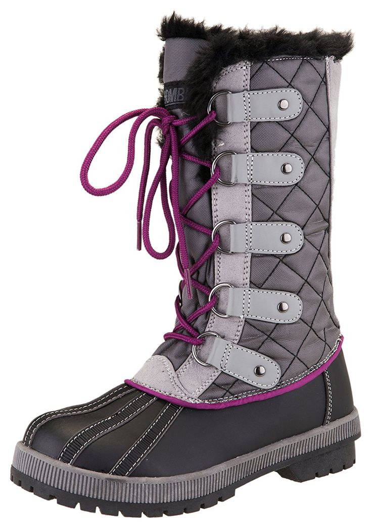 Khombu Women's Jenny Waterproof Winter Snow Boot ** Click on the image for additional details.