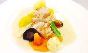 Groupon - Menu gastronomique d'automne service sous cloche 2 personnes à 54 € au restaurant Le Quai Gourmet à TOURNAI. Prix Groupon : 54€