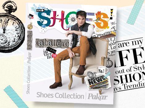Catálogo de Caballero Shoes Collection Pakar Otoño Invierno 2014.