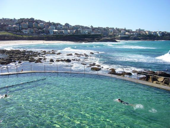 Bronte Beach Pool, Sydney, Australia.  Love this place!!!