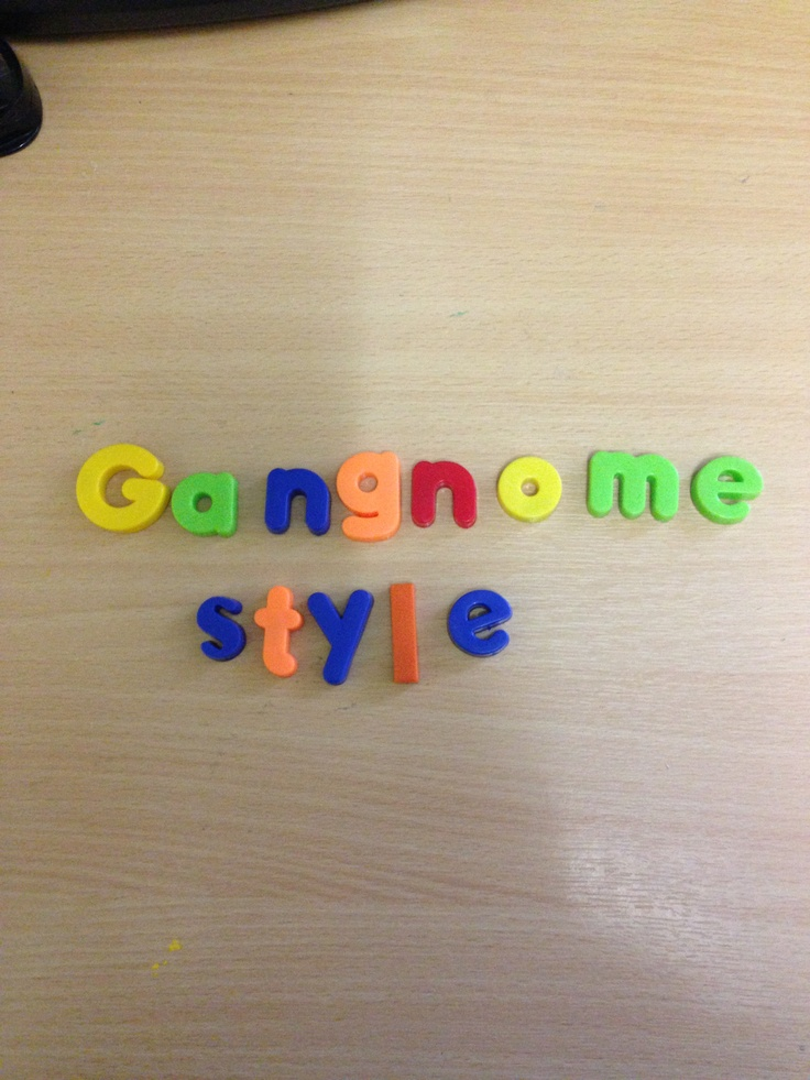 Title for gangnome style