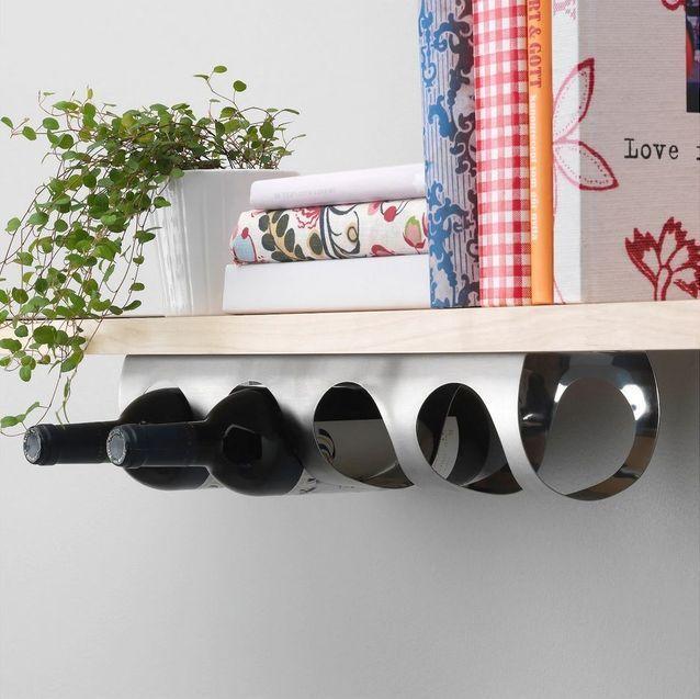 Ces 20 Indispensables Ikea Vont Vous Seduire Elle Decoration Range Bouteille Etageres A Bouteilles De Vin Casier A Bouteille