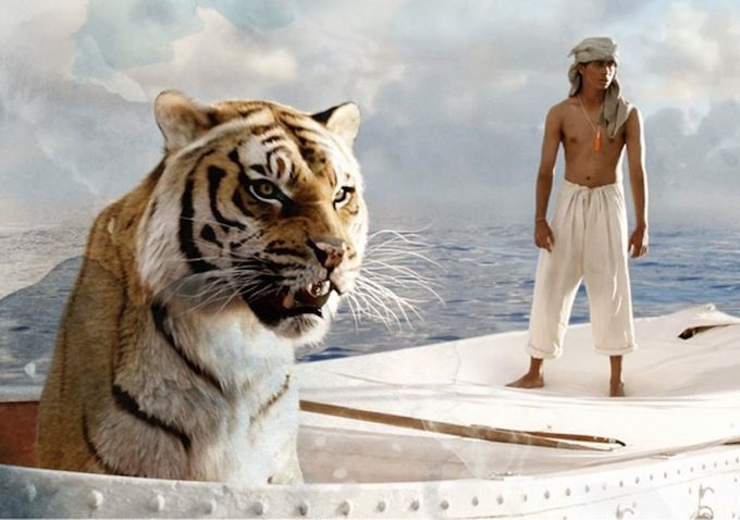 'Life of Pi' Review: Ang Lee's Gorgeous Adaptation is Stunning 3-D Triumph | Thompson on Hollywood. I thought this was a beautiful movie with twists that made you think! I loved the Richard Parker (the tiger) and his relationship with Pi. Fantastic movie and I recommend it! Hopefully soon I will be able to read the book! <3
