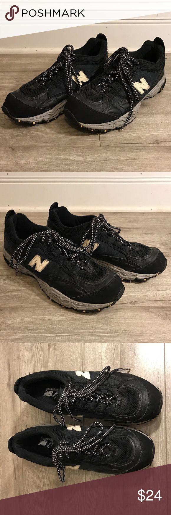 New balance running shoes size 11.5 black All terrain new balance running shoes in good condition New Balance Shoes Sneakers