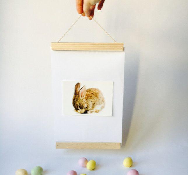 Bilderrahmen - Bilderleiste Posterleiste klein - ein Designerstück von FABRICmien bei DaWanda