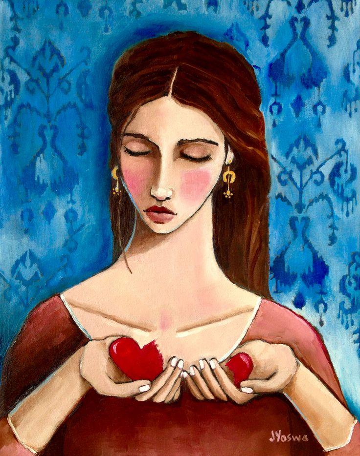 She Loved So Hard Her Heart Tore by Jennifer Yoswa