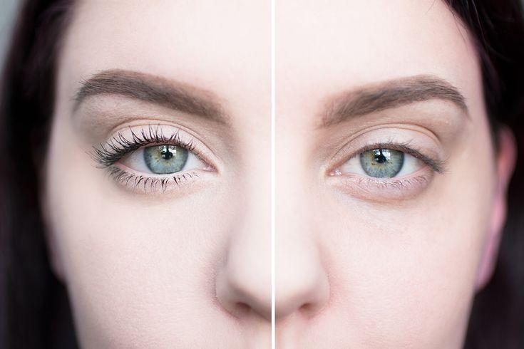 sminka bort trötta ögon makeup tired eyes