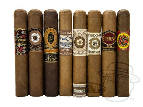 Best of Perdomo - Sampler 5 x Various Diameters—8 Cigars - Best Cigar Prices