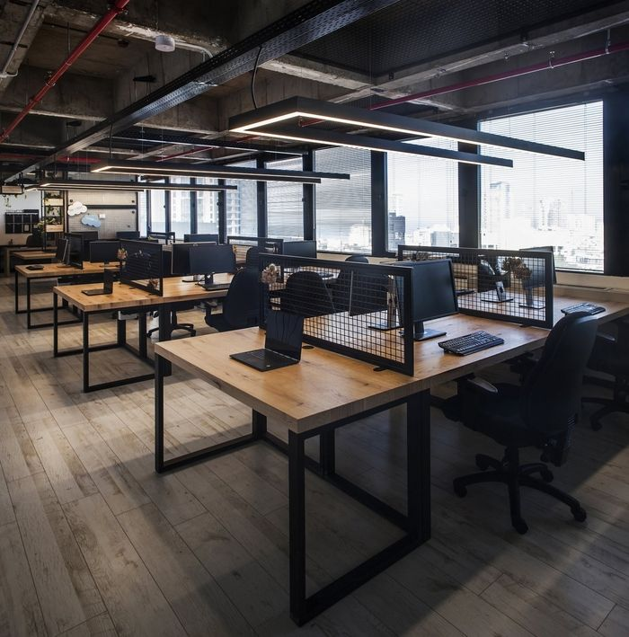 25 best ideas about loft office on pinterest industrial - Industrial look office interior design ...