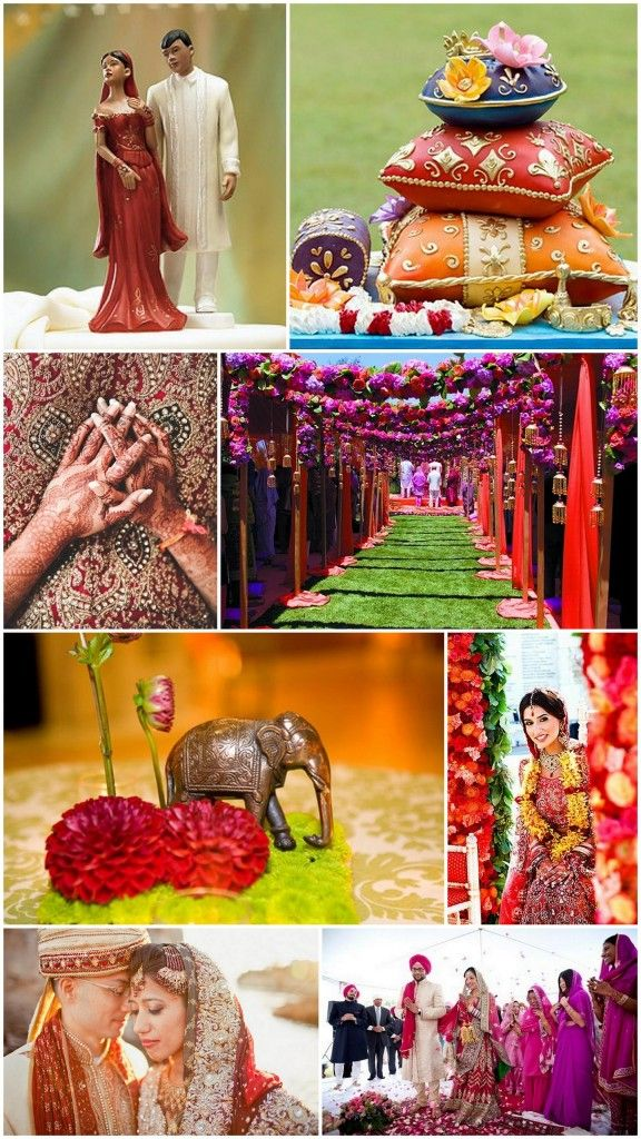 Bold, Bright & Beautiful: Indian Wedding Ideas!