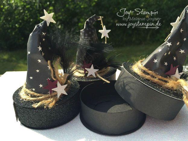 Anleitung Mini Hexenhut - Stampin Up - Joy-Stampin