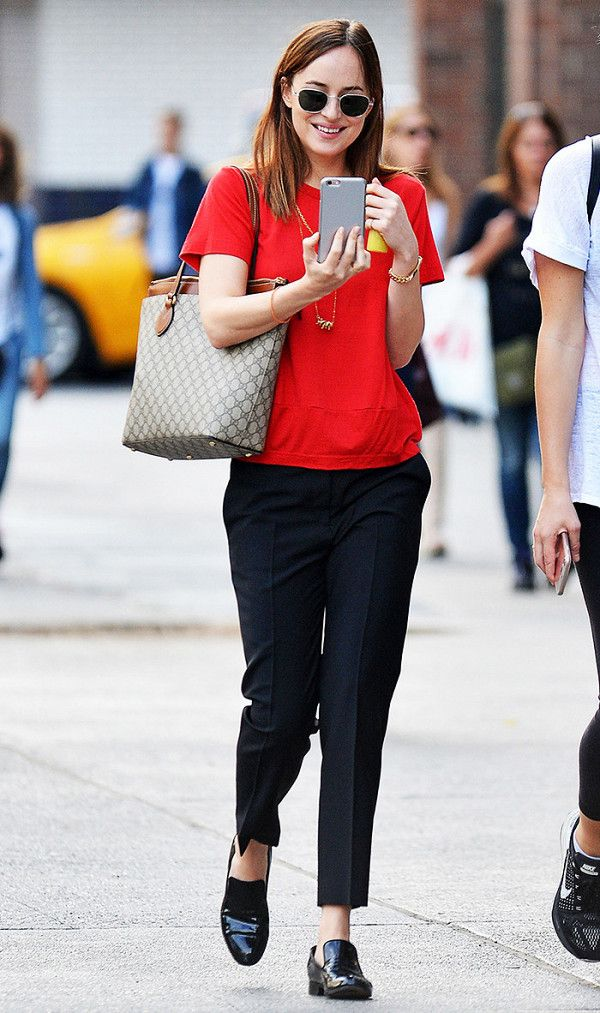 Dakota Johnson outfit idea
