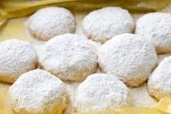 MEXICO (POLVORONES DE NARANJA)  Polvorones de Naranja, dulces galletas de naranja para degustar en Mexico.