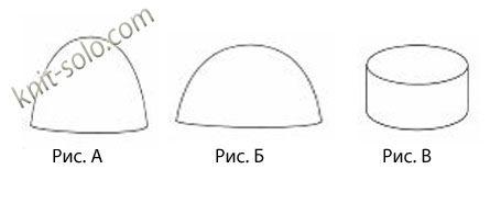 Три вида вязания шапочки крючком