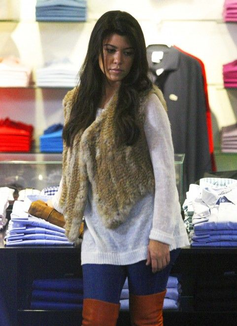 A casual day shopping always calls for a fur vest. http://www.koslowsfurs.com/