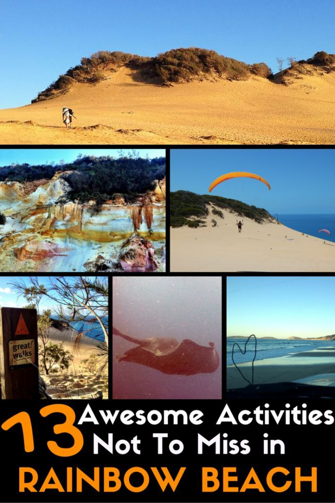 13 Awesome Activities Not To Miss in Rainbow Beach, Australia