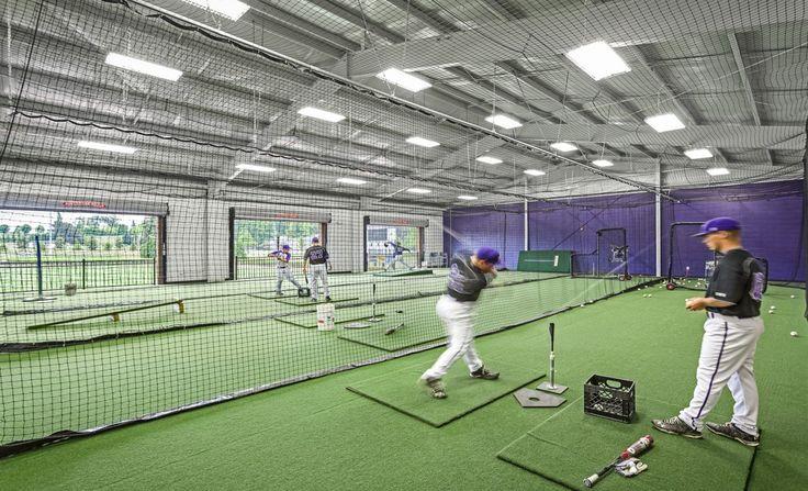 Wofford College Baseball Locker Room