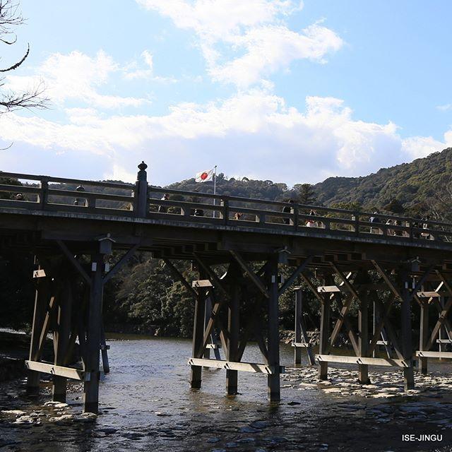 isejingu.official #伊勢神宮 #神宮 #心のふるさと #内宮 #宇治橋 #五十鈴川 #建国記念祭 #建国記念の日 #ISEJINGU #JINGU #SOUL_of_JAPAN #Shinto #Naiku #Ujibashi_Bridge #Isuzugawa_River 伊勢神宮 内宮 / Naiku 2017/02/11 12:23:36