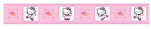 wallpaper - $14.79 - Lambs & Ivy Ballerina Wallpaper Border, Hello Kitty by Lambs & Ivy, http://www.amazon.com/dp/B009SXIDWM/ref=cm_sw_r_pi_dp_OLz7rb18Q5WE4