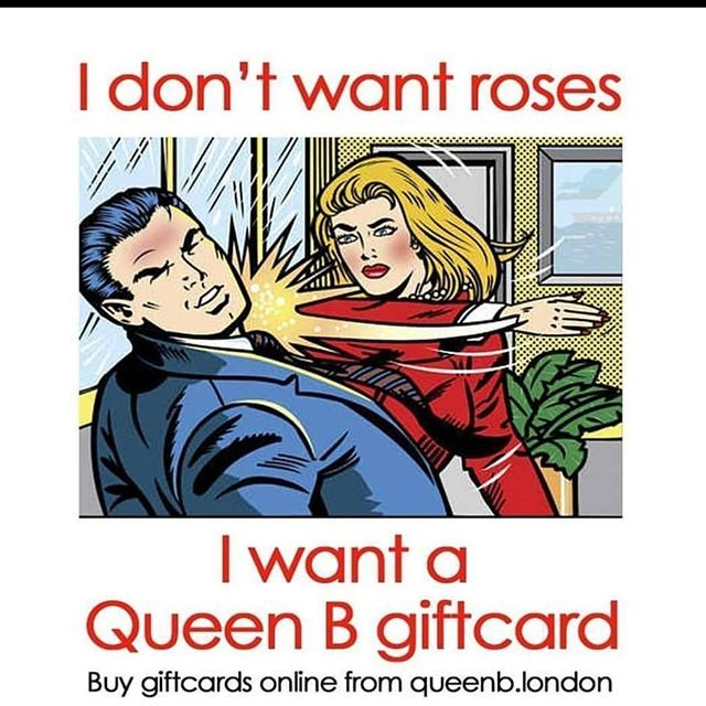 Give The Gift Of Queen B This Valentines Day With A Giftcard Our Giftcards Never Expire And Can Be Purchased In Store O Workout Humor Workout Memes Gym Memes