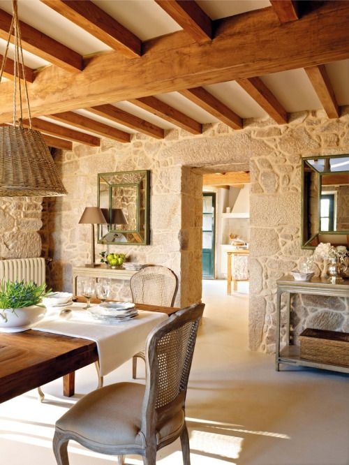 33 Charming And Beautiful Provence Dining Spaces   DigsDigs