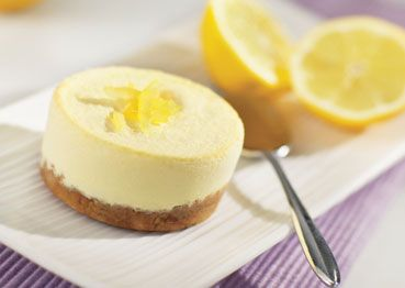 Tarta de limón con base de galletas MARIA