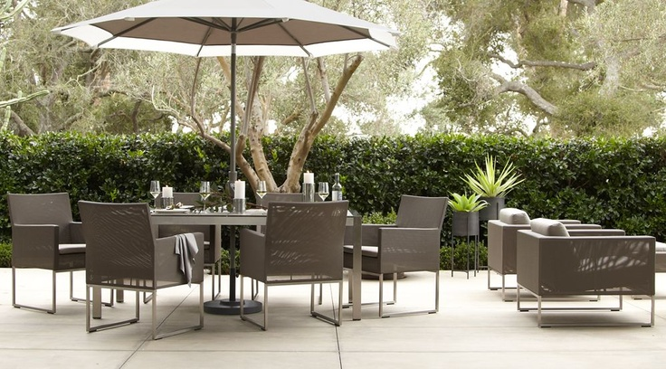 dune outdoor furniture. Dune Outdoor Living Collection From Crate \u0026 Barrel -- Modern Entertaining, I Love The Mesh Chairs | Cc Pinterest Dune, Furniture A