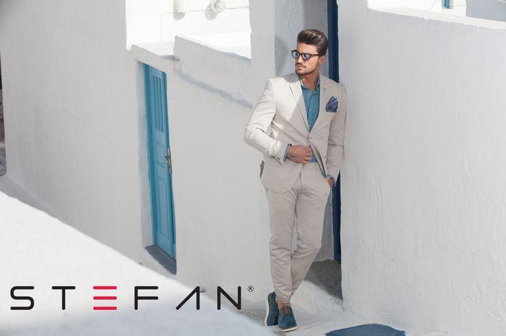 Mariano Di Vaio for Stefan  #stefan #stefanfashion #marianodivaio #fashion #mesfashion #santorini