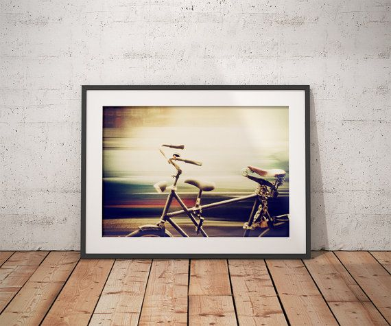 Bicycle photograph / Fine art print / Amsterdam by csillajenei