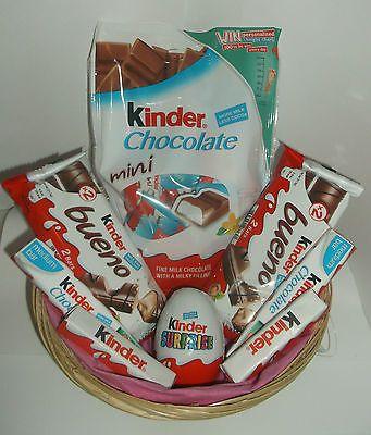 Kinder Egg Surprise Gift Hamper Geburtstagsgeschenk für junge Mädchen Süßigkeiten Schokolade | CH… – Christmas food