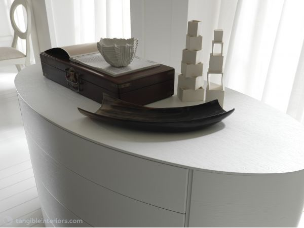 MOON WHITE DRESSER BY ROSSETTO - Tangible Interiors
