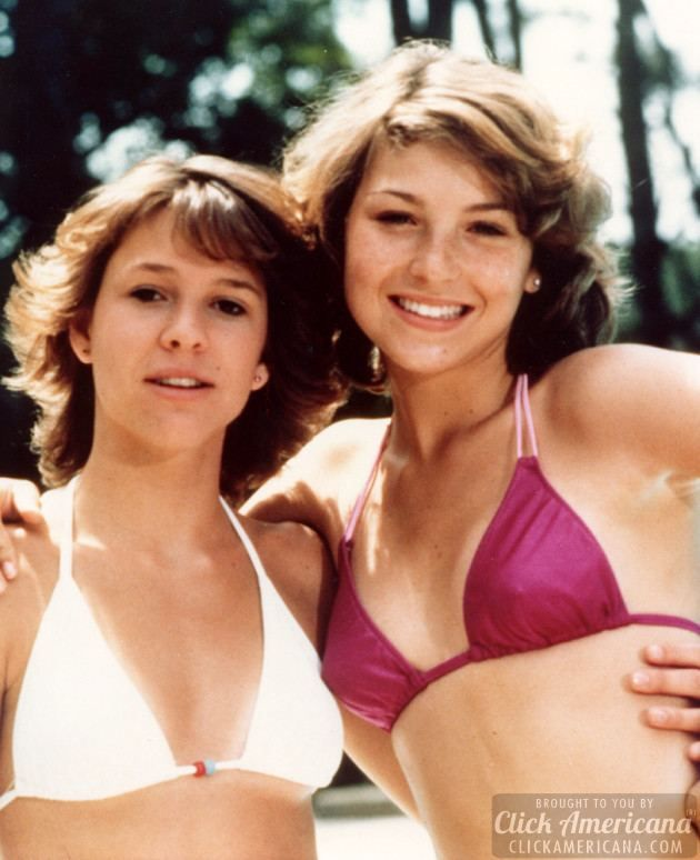 """Kristy McNichol and Tatum O'Neal Little Darlings 1980. """"I'm Angel. but don't let the name fool you."""" LOVED this movie!!"""